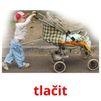tlačit picture flashcards