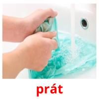 prát picture flashcards