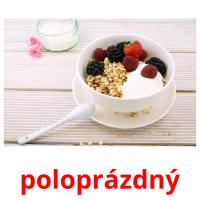 poloprázdný card for translate
