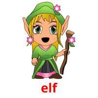 elf picture flashcards