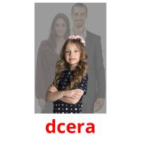 dcera picture flashcards