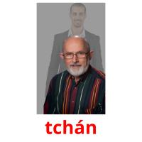 tchán picture flashcards