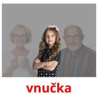 vnučka picture flashcards