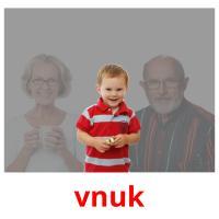 vnuk picture flashcards
