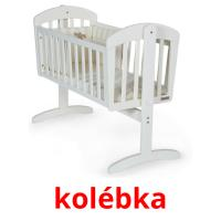 kolébka picture flashcards