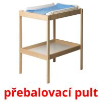 přebalovací pult picture flashcards