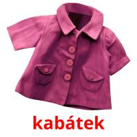 kabátek picture flashcards