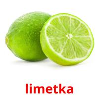 limetka picture flashcards