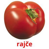 rajče picture flashcards
