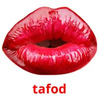 tafod picture flashcards