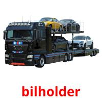 bilholder picture flashcards