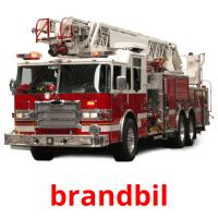 brandbil picture flashcards