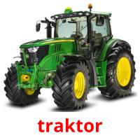 traktor picture flashcards