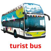 turist bus picture flashcards