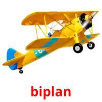 biplan picture flashcards