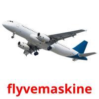 flyvemaskine picture flashcards