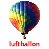 luftballon picture flashcards