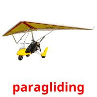 paragliding picture flashcards