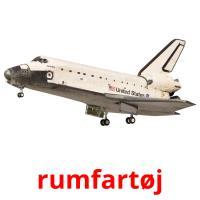rumfartøj picture flashcards