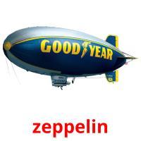 zeppelin picture flashcards