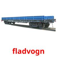 fladvogn picture flashcards