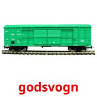 godsvogn picture flashcards