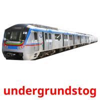 undergrundstog picture flashcards