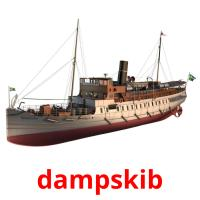 dampskib picture flashcards