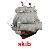 skib picture flashcards