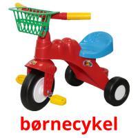 børnecykel picture flashcards