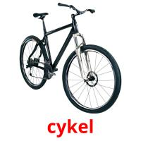 cykel picture flashcards