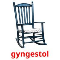 gyngestol picture flashcards