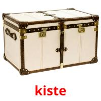kiste picture flashcards