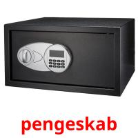 pengeskab picture flashcards