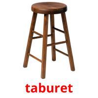 taburet picture flashcards