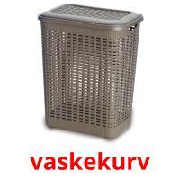 vaskekurv picture flashcards
