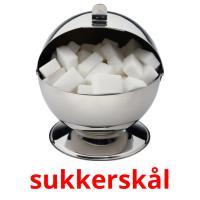 sukkerskål picture flashcards