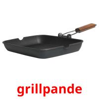 grillpande picture flashcards