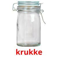 krukke picture flashcards