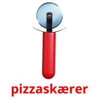 pizzaskærer picture flashcards