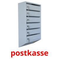 postkasse picture flashcards