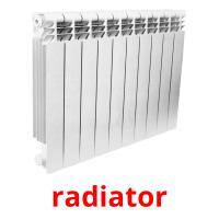 radiator picture flashcards