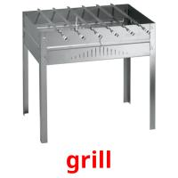 grill picture flashcards