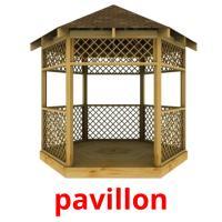 pavillon picture flashcards