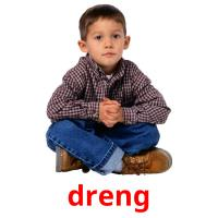 dreng picture flashcards