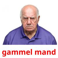 gammel mand picture flashcards