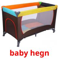 baby hegn picture flashcards