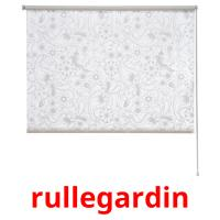 rullegardin picture flashcards