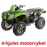 4-hjulet motorcykel picture flashcards