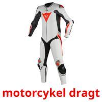 motorcykel dragt picture flashcards